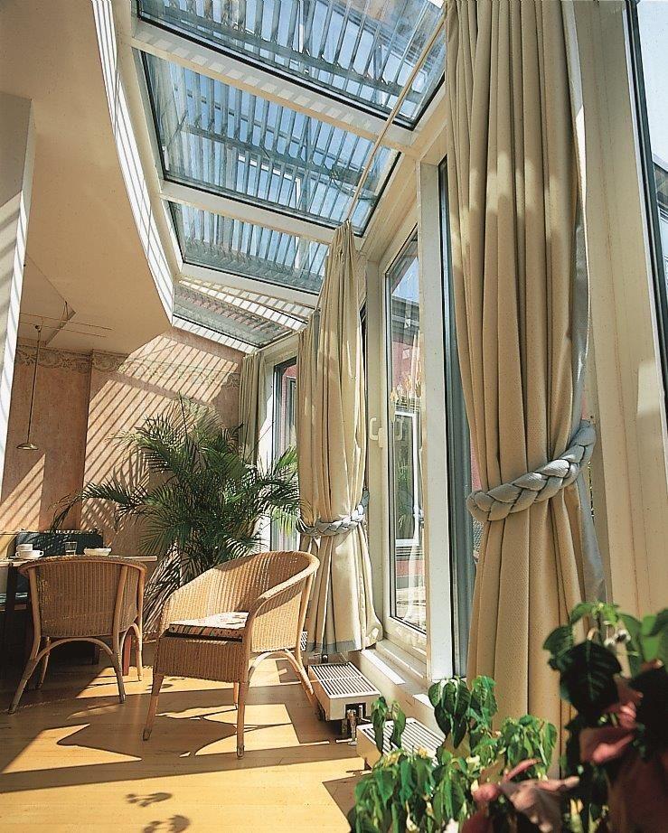 Raffstore Wintergarten